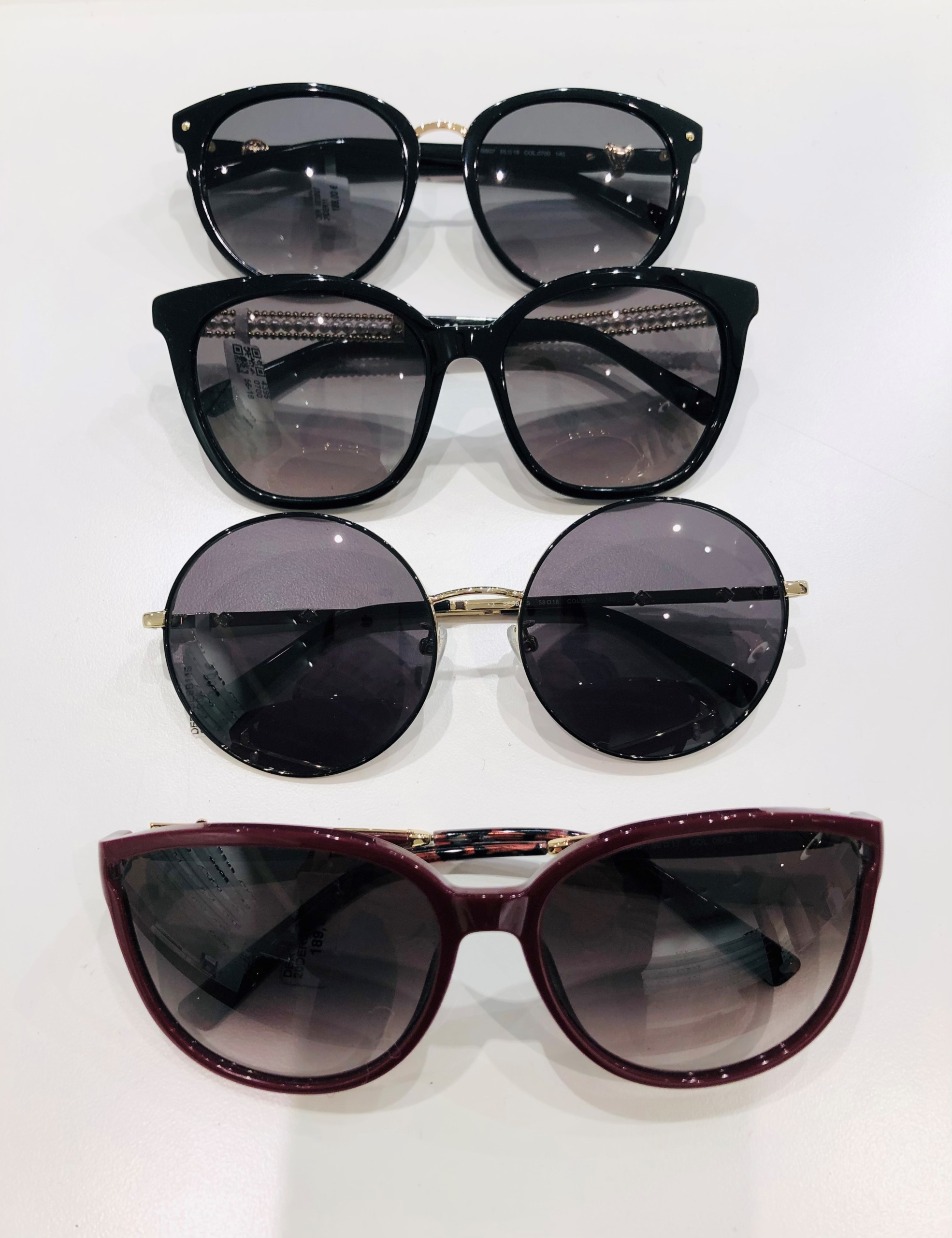 Schaufenster online_03012021_Optiker Augensache Brille Kontaktlinse Friedberg_ESCADA_MARC OPOLO