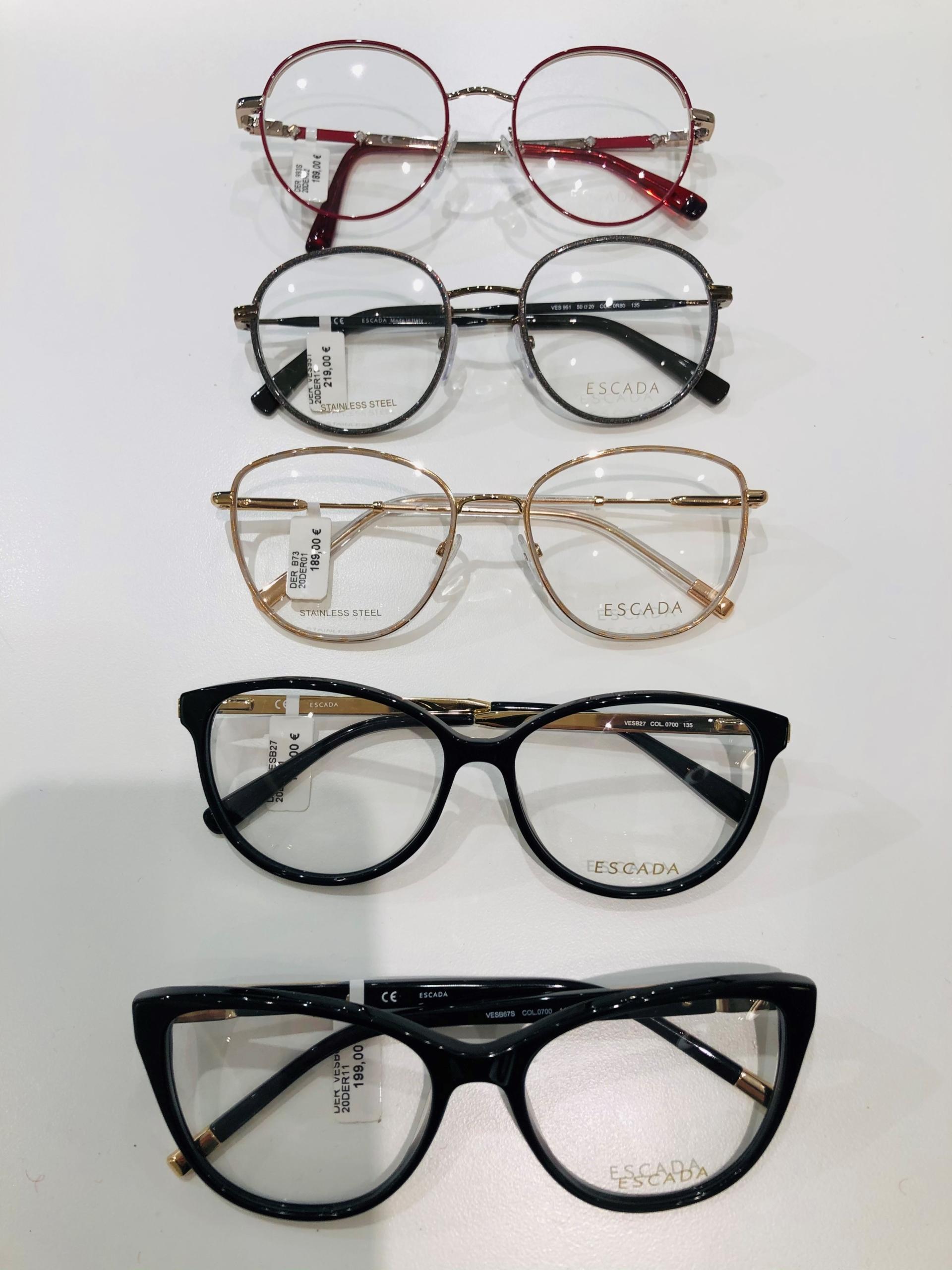 2_Schaufenster online_03012021_Optiker Augensache Brille Kontaktlinse Friedberg_ESCADA_MARC OPOLO