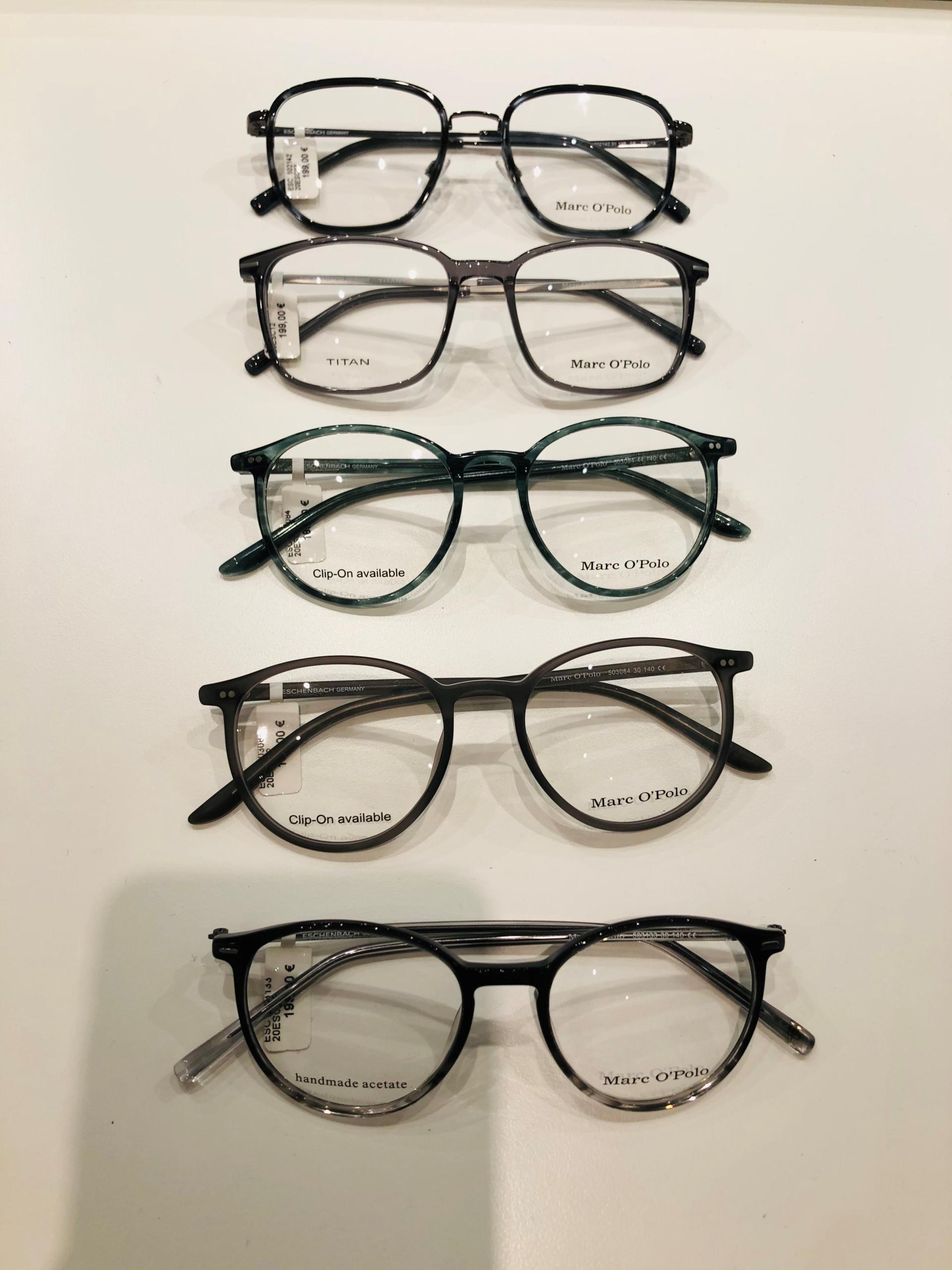 3_Schaufenster online_03012021_Optiker Augensache Brille Kontaktlinse Friedberg_ESCADA_MARC OPOLO
