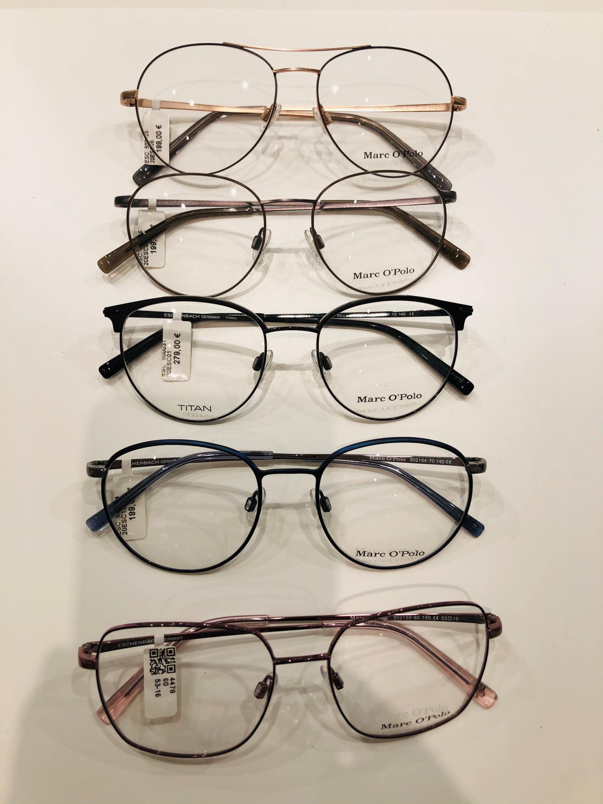 4_Schaufenster online_03012021_Optiker Augensache Brille Kontaktlinse Friedberg_ESCADA_MARC OPOLO