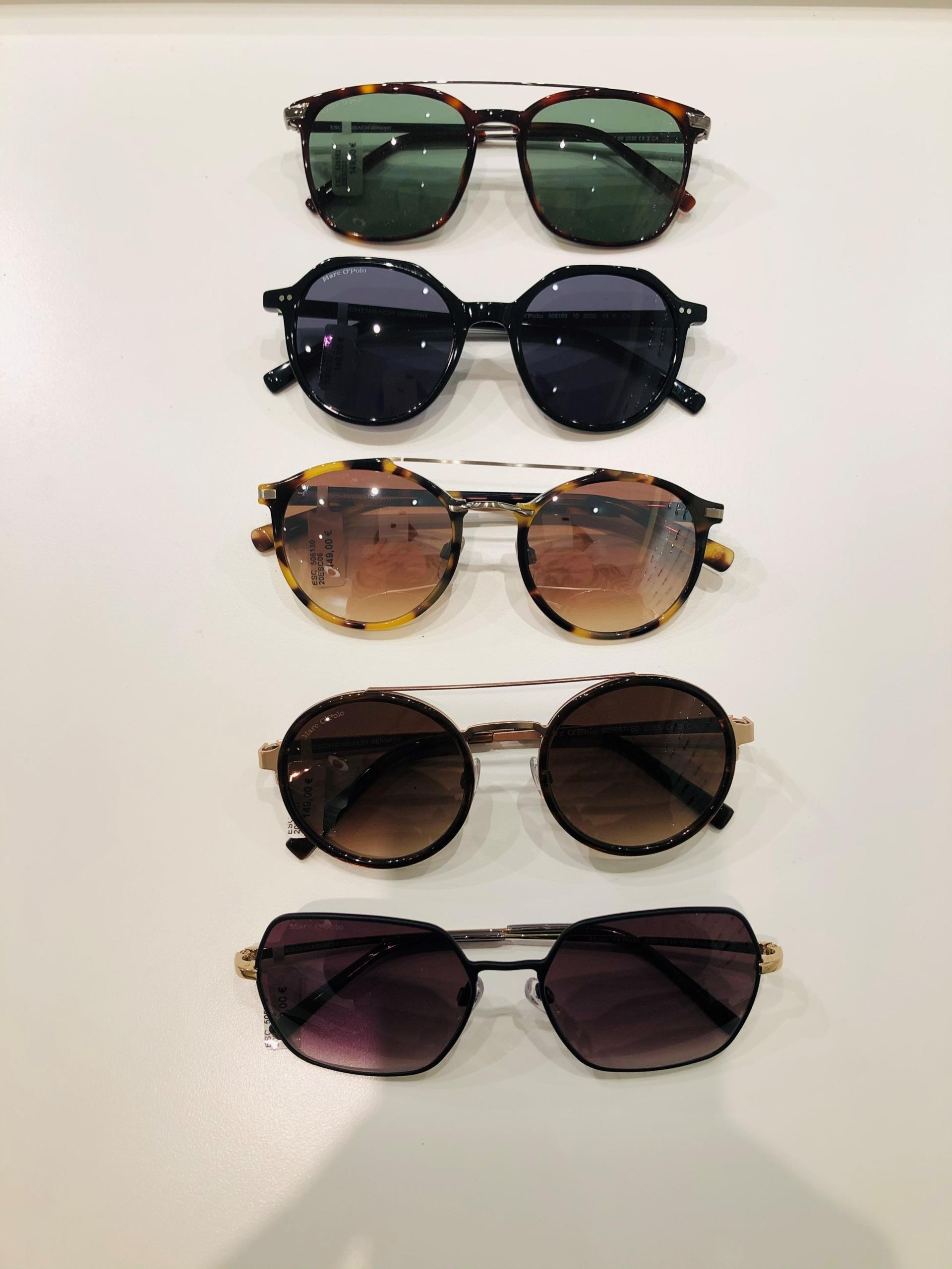 5_Schaufenster online_03012021_Optiker Augensache Brille Kontaktlinse Friedberg_ESCADA_MARC OPOLO_Sonnenbrille