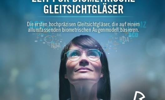 Biometrische Gleitsichtgläser vom Optiker Augensache in Friedberg